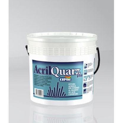 Immagine di Acrilquarzfas - pittura acrilica per esterno al quarzo fine. 5000 g