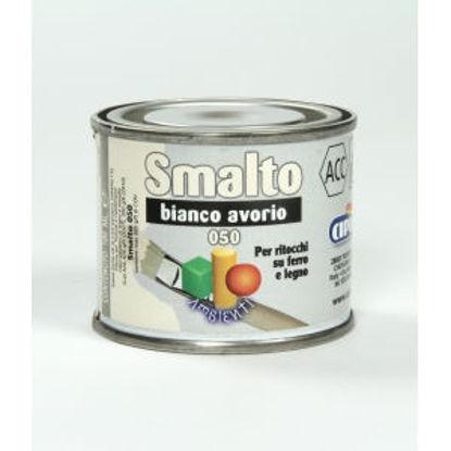 Immagine di Smalto ritocco - smalto sintetico di altissima qualitÀ per laccature di pregio all'esterno e all'interno.  bianco avorio - 100 ml