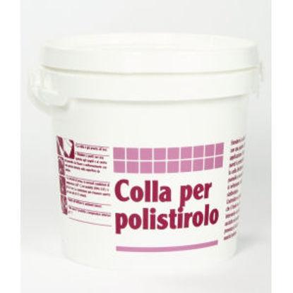 Immagine di Colla per polistirolo - pasta adesiva per rivestimenti decorativi in polistirolo. 5000 g