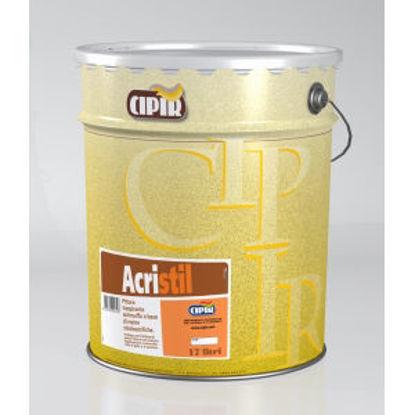 Immagine di Acristil - pittura stirolo-acrilica traspirante per interno. 17 lt