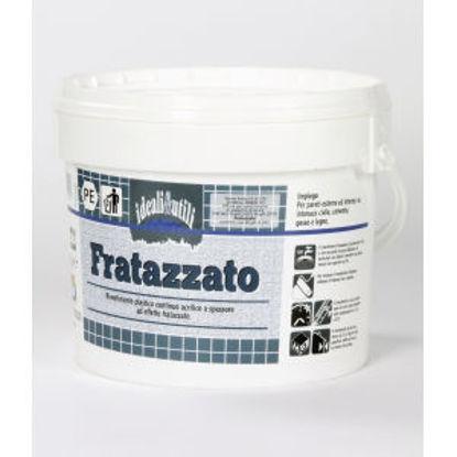 Immagine di Fratazzato - rivestimento plastico continuo ad effetto fratazzato. bianco - 5000 g