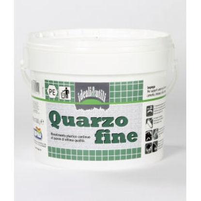 Immagine di Bucciato al quarzo fine - rivestimento plastico continuo di ottima qualitÀ, ad effetto bucciato al quarzo per esterno ed interno. 5000 g