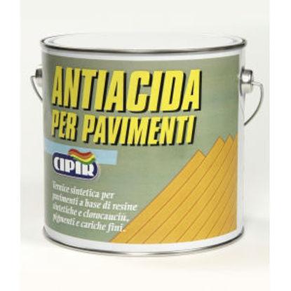 Immagine di Antiacida per pavimenti - vernice sintetica per pavimenti in cemento.  grigio perla - 2500 ml