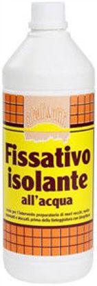 Immagine di Fissativo isolante all'acqua, acrilico per interno ed esterno, 750 ml.