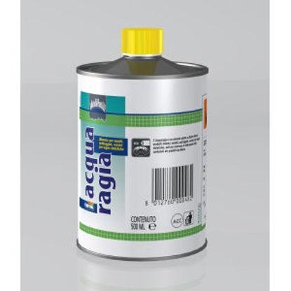 Immagine di Acquaragia - diluente per smalti, antiruggini, vernici per legno sintetiche. 500 ml