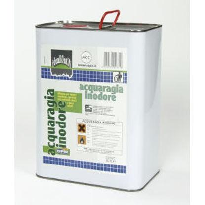 Immagine di Acquaragia inodore - diluente per vernici sintetiche, speciale per ambienti chiusi e poco aerati. 5000 ml