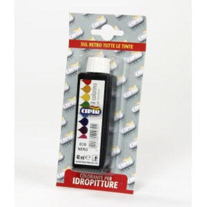 Immagine di Colorante acrilico - coloranti idrodispersi a base di pigmenti organici ad alta purezza, resistenti alla luce da usare solo internamente. nero -  blister