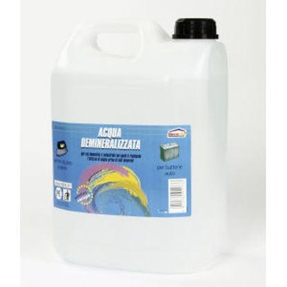 Immagine di Acqua demineralizzata - prodotto per usi domestici e industriali nei quali È richiesto l'utilizzo di acqua priva di sali minerali. 5000 ml