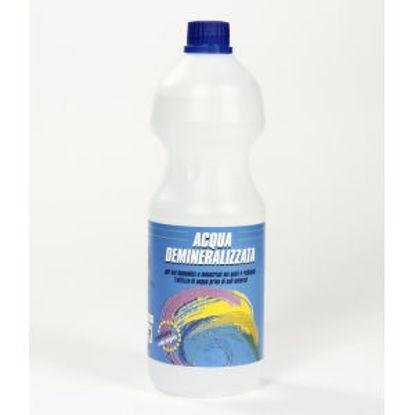 Immagine di Acqua demineralizzata - prodotto per usi domestici e industriali nei quali È richiesto l'utilizzo di acqua priva di sali minerali. 1000 ml