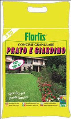 Immagine di Concime granulare per prato e giardino kg.5,  per un completo ed equilibrato nutrimento di prati, campi sportivi, piante e fiori da giardino, composizione. npk (s) 20-10-10 (15)