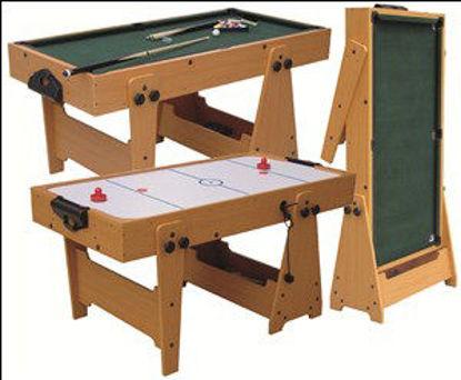 Immagine di Biliardo-carambola/air hockey, due giochi in uno