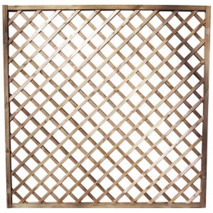 Immagine di Griglia diagonale passo 9 slim, dimensione cm.60x4,4x180 cm.