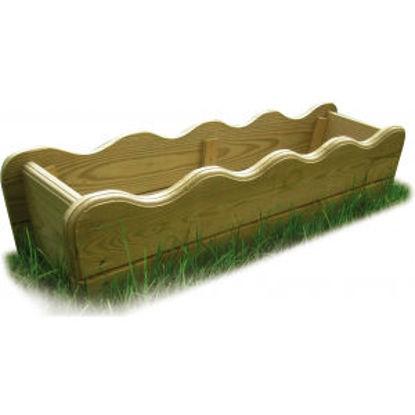 Immagine di Balconiera legno impregnato, cm. 80x20x20