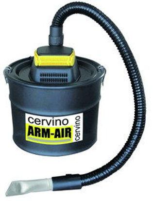 Immagine di Aspiracenere elettrico modello cervino, potenza 800w, serbatoio da 18 lt