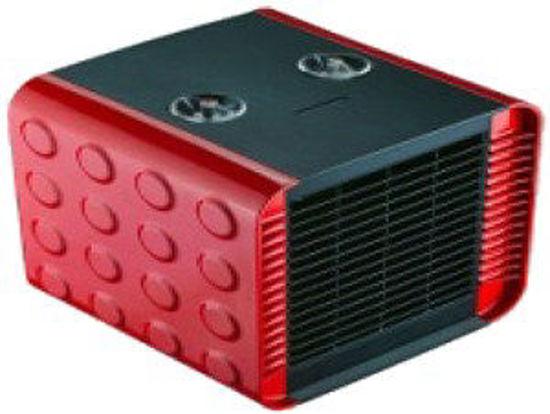 Immagine di Termoventilatore ceramico con termostato 2 selezioni riscaldanti 750-1500w