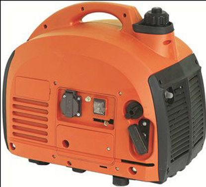 Immagine di Generatore silenziato monofase, potenza max 0,70kw, motore a 2 tempi a miscela, avviamento a strappo,serbatoio lt.2,5