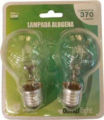 Immagine di Lamp.alogena goccia e27 28w 2pz