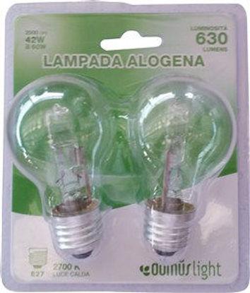 Immagine di Lamp.alogena goccia e27 42w 2pz