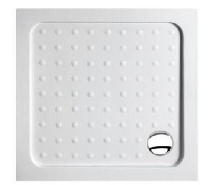 Immagine di Piatto doccia quadrato in abs cm.90x90x6