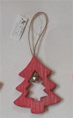 Immagine di Albero rosso decoraz.appendib.20x9x0,7