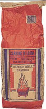 Immagine di Carbonella vegetale in sacco kg.5