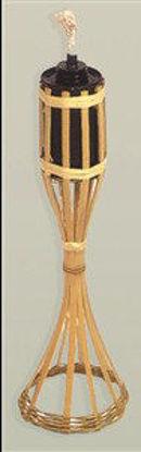 Immagine di Torcia bamboo da appoggio altezza cm.35