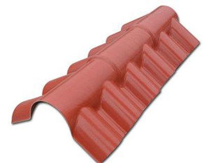 Immagine di Colmo per copertura modello roma colore terracotta 1080
