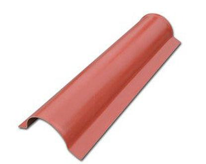 Immagine di Colmo lato per copertura modello roma colore terracotta 820