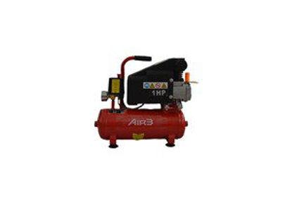 Immagine di Compressore 8 litri 1hp 750w pressione 8 bar 1 attacco rapido colore rosso