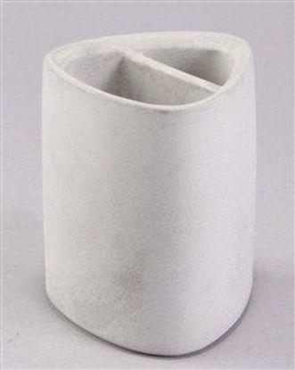 Immagine di Bicchiere porta spazzolini effetto cemento