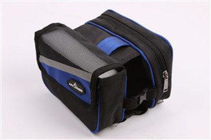 Immagine di Borsello bici hx294 nero e blu