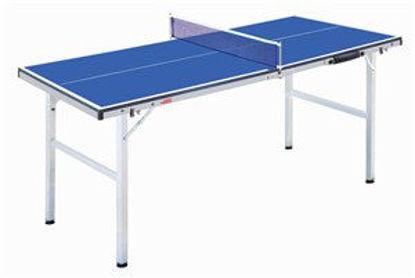 Immagine di mini tavolo pingpong cm. 150x67 pieghevole completo di 2 racchette e di 3 palline