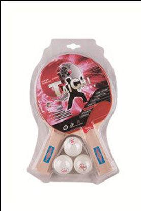 Immagine di Confezione 2 racchette 3 stelle e 3 palline