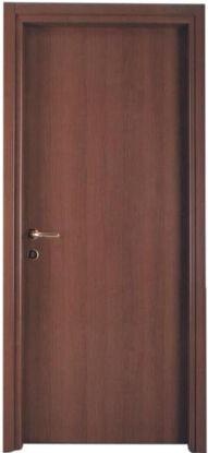 Immagine di Porta modello doppiosenso reversibile, colore noce nazionale, profili fissi, misure cm. l.70 h.210