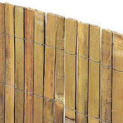 Immagine di Arella  in cannette di bambù spaccato beach mt.2x3 lunghezza