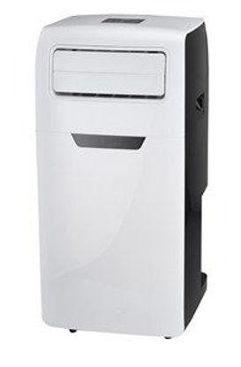 Immagine di Climatizzatore portatile 12000btu/h 1300watt  cm.38,6x39x80,6 funzione deumidificatore con kit finestra