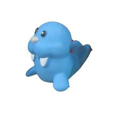 Immagine di Gioco in gomma morbida a forma di foca blu