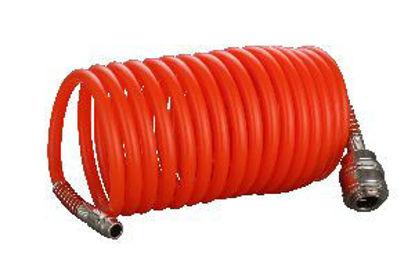 Immagine di Tubo estensibile per compressore con attacchi rapidi mt.10
