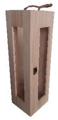 Immagine di Scatola portabottiglia di vino in legno