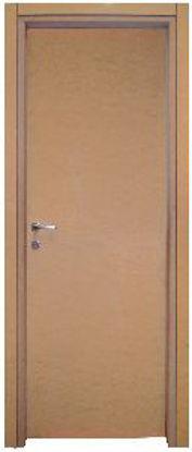 Immagine di Porta modello norma decor reversibile, grezza, profili regolabili, misure cm. l.80 h.211.