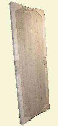 Immagine di V-porta norma rovere sbiancato l.70 reversibile cornice regolabile