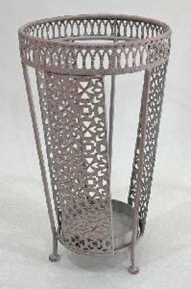 Immagine di Portaombrelli in ferro shabby chic 26x46cm