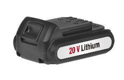 Immagine di batteria di ricambio al litio di ioni capacità 20volt potenza 2,0ah