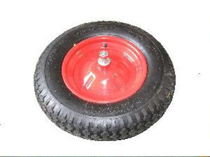 Immagine di Ruota disco pneumatica con minuteria montata