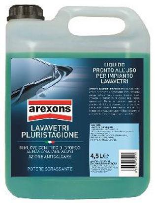 Immagine di Detergente liquido lavavetri per vaschetta ad azione sgrassante lt.4, ideale per una perfetta pulizia dei parabrezza di auto