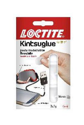 Immagine di Loctite kintsuglue pasta modellabile per riparare qualsiasi oggetto confezione 3 x 5gr. bianco