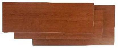 Immagine di Piano pratico finitura in melaminico colore ciliegio mm.300x18x800