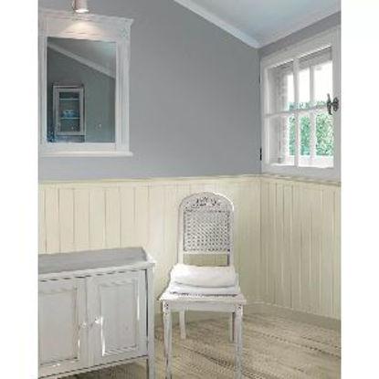 Immagine di Perlina prima scelta abete spazzolato bianco, spessore mm.12 larghezza cm.120 lunghezza cm.200, confezione da mq.2,4