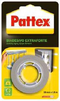 Immagine di Pattex biadesivo power fix brico h.19mmx1,5mt.