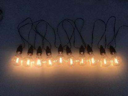 Immagine di 10 LED PARTY LIGHTS CON TIMER COL.BIANCO